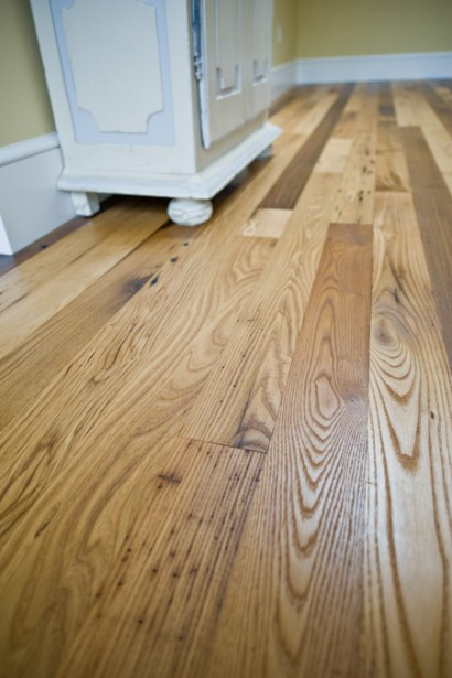 reclaimed salvaged antique repurposed american chestnut flooring in brookline massachusetts