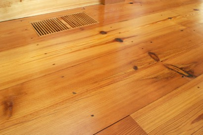 reclaimed salvaged antique repurposed heart pine stair treads flatsawn with knots new hampshire