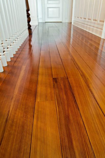 reclaimed clear quartersawn heart pine flooring