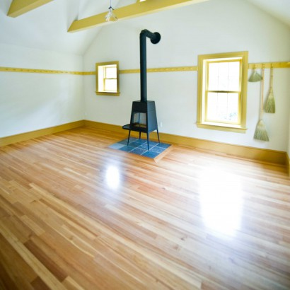 reclaimed salvaged antique repurposed clear quartersawn heart pine flooring for a rockport massachusetts
