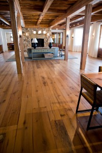 reclaimed salvaged antique repurposed wide plank white oak flooring in maine