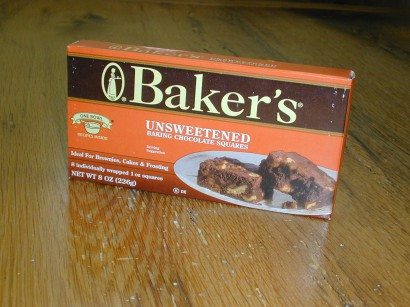 Baker's Chocolate Box