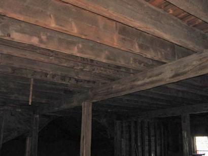 Hatfield Tobacco Barn Interior