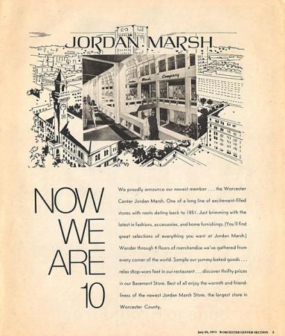 old jordan marsh advertisement