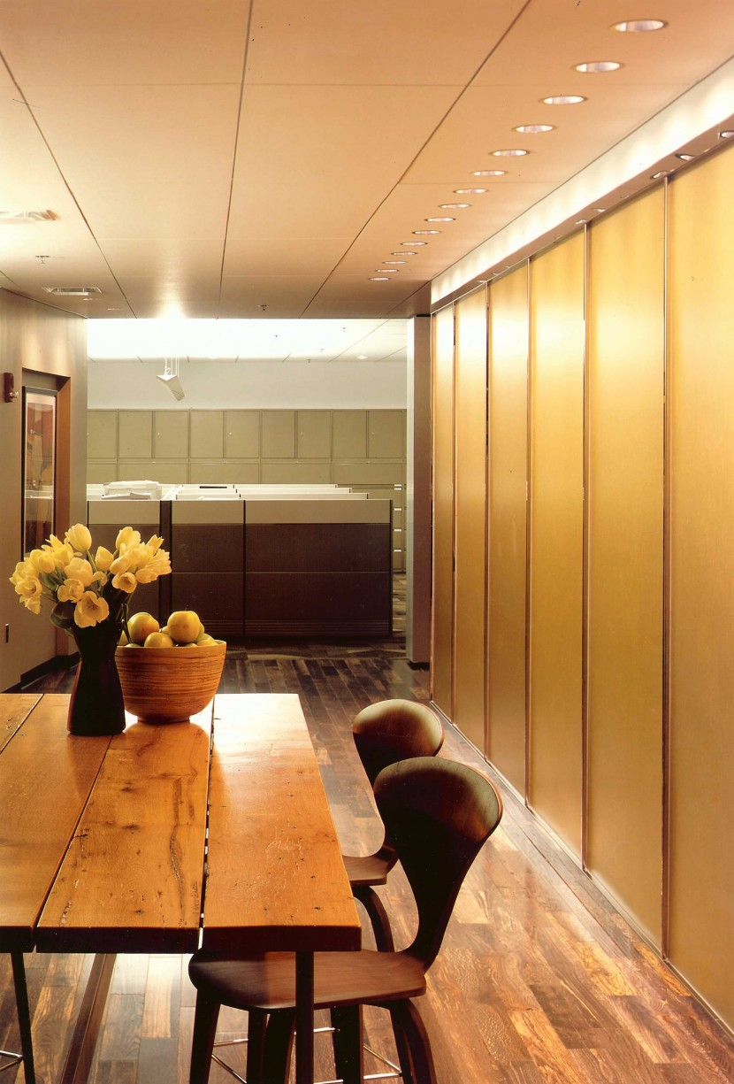 reclaimed salvaged antique repurposed white oak office table