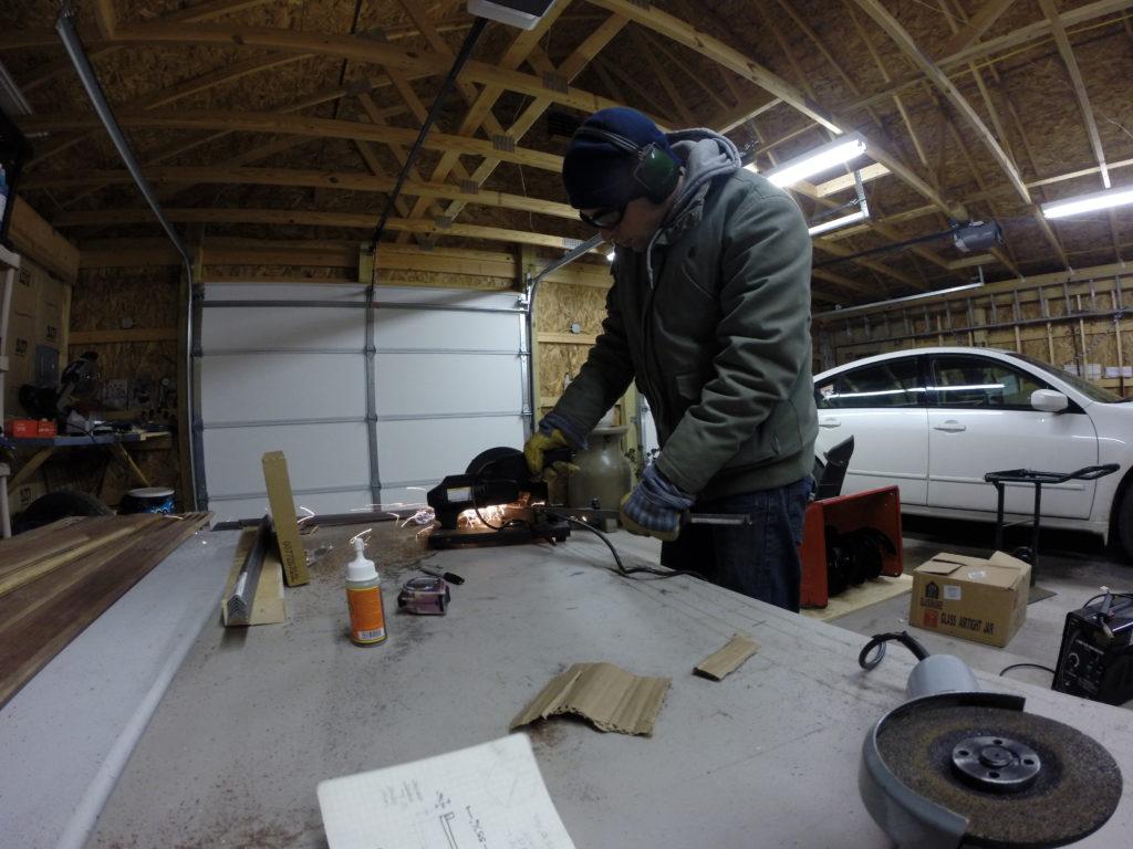 reclaimed repurposed antique salvaged walnut flooring used for a bedroom headboard by longleaf lumber