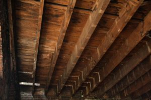 salvaged wood joists