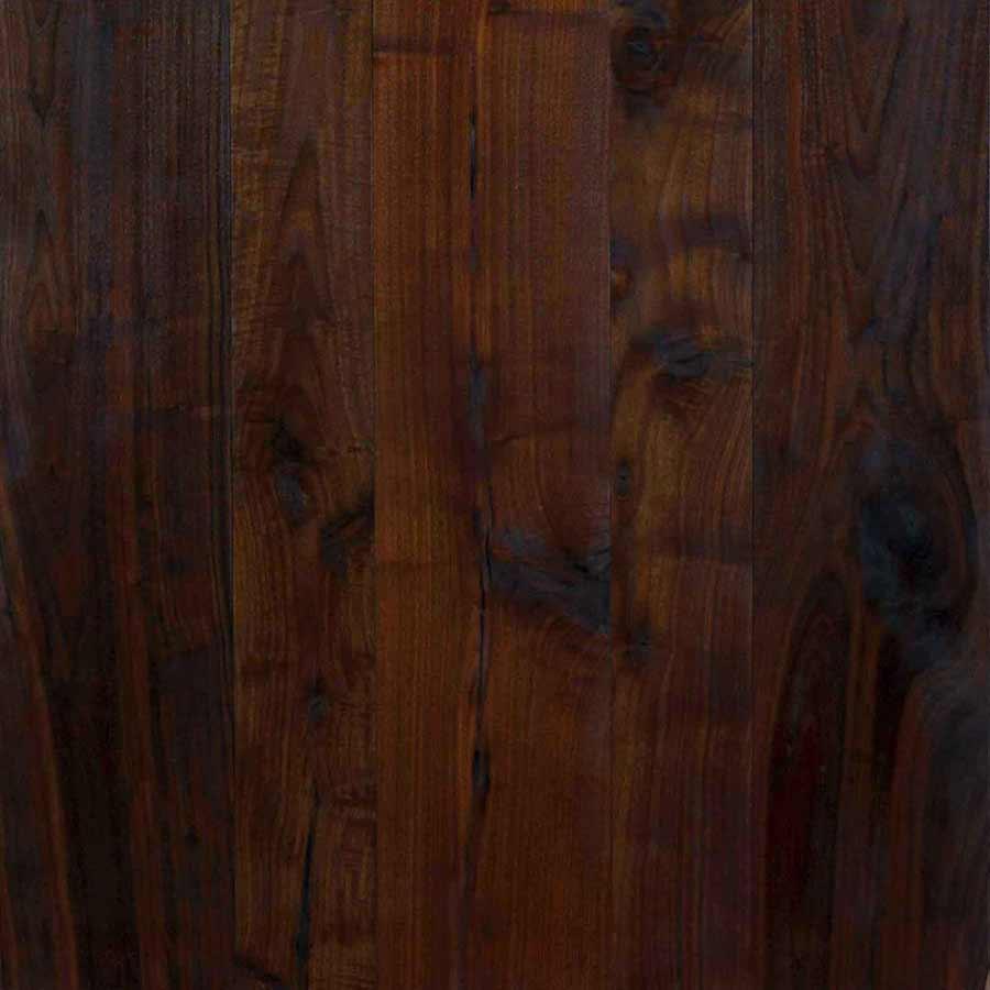Reclaimed Black Walnut Wood Flooring