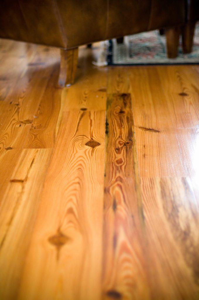 #3 Rustic Reclaimed Heart Pine Flooring ~ Nantucket, Massachusetts, Private Residence