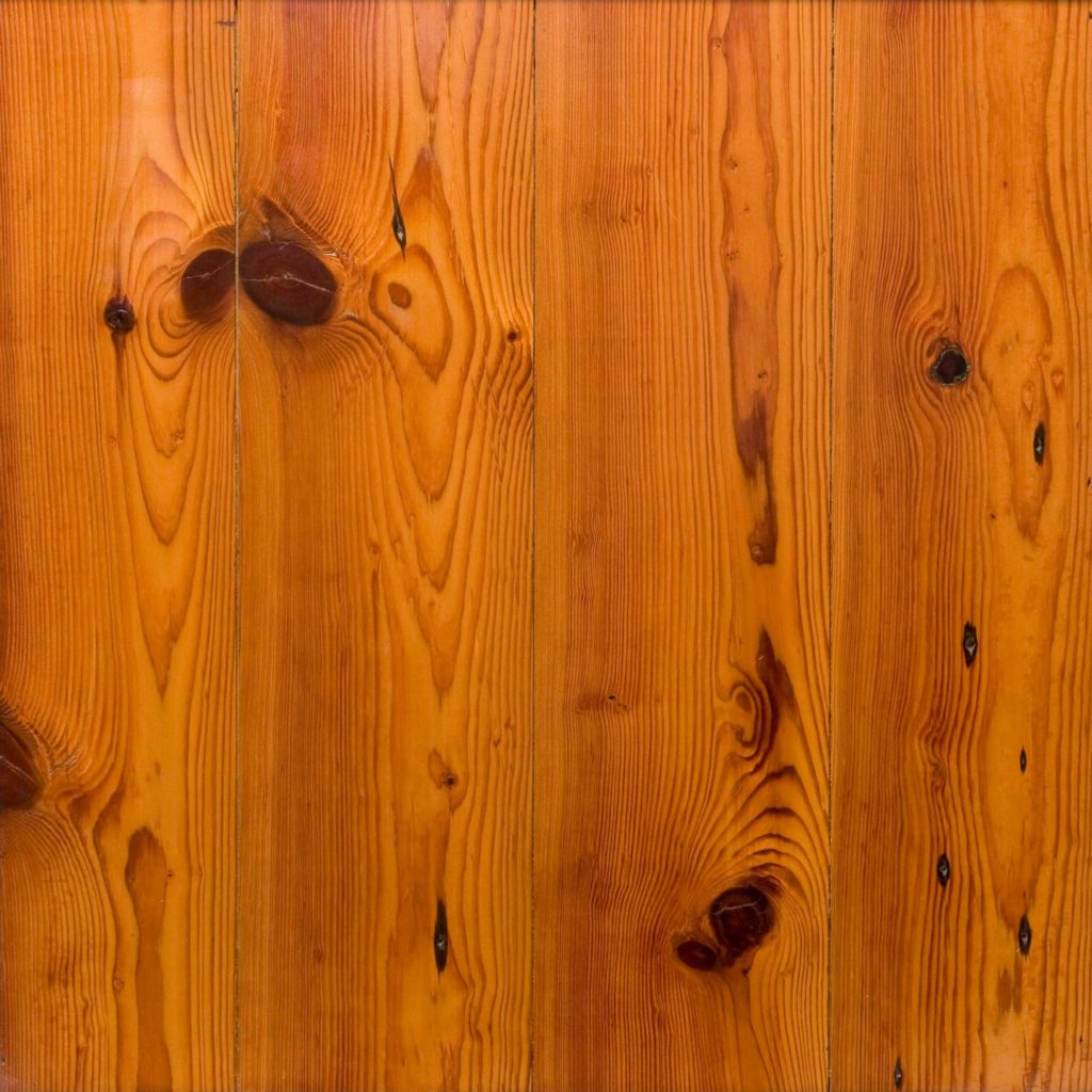 #3 Rustic Reclaimed Heart Pine Flooring - Waterlox Tung Oil Finish