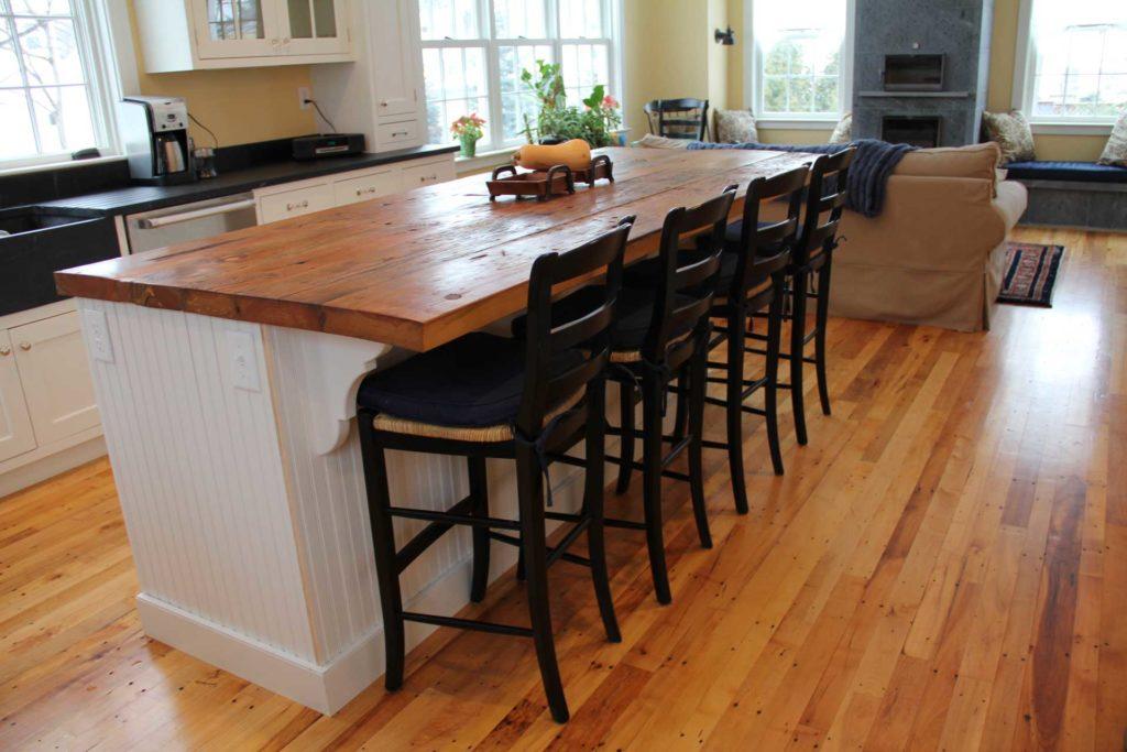 Reclaimed Maple Flooring ~ Private Residence