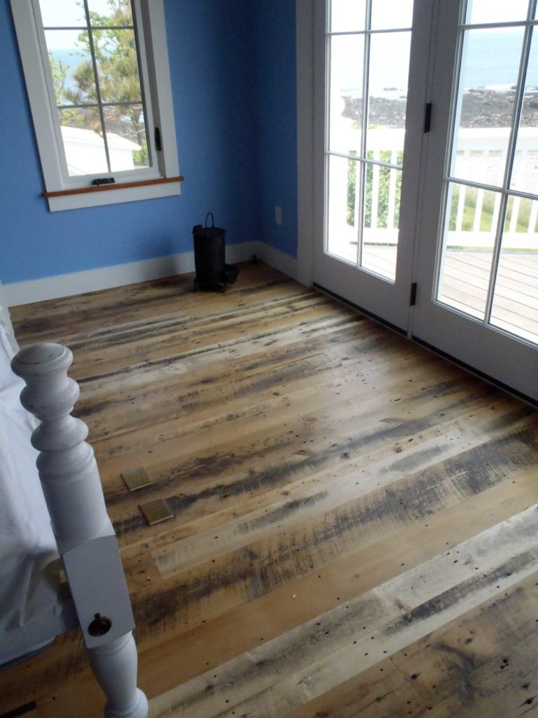 Reclaimed Skip-Planed Mixed Softwoods ~ Unfinished