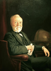 Andrew Carnegie. National Portrait Gallery.