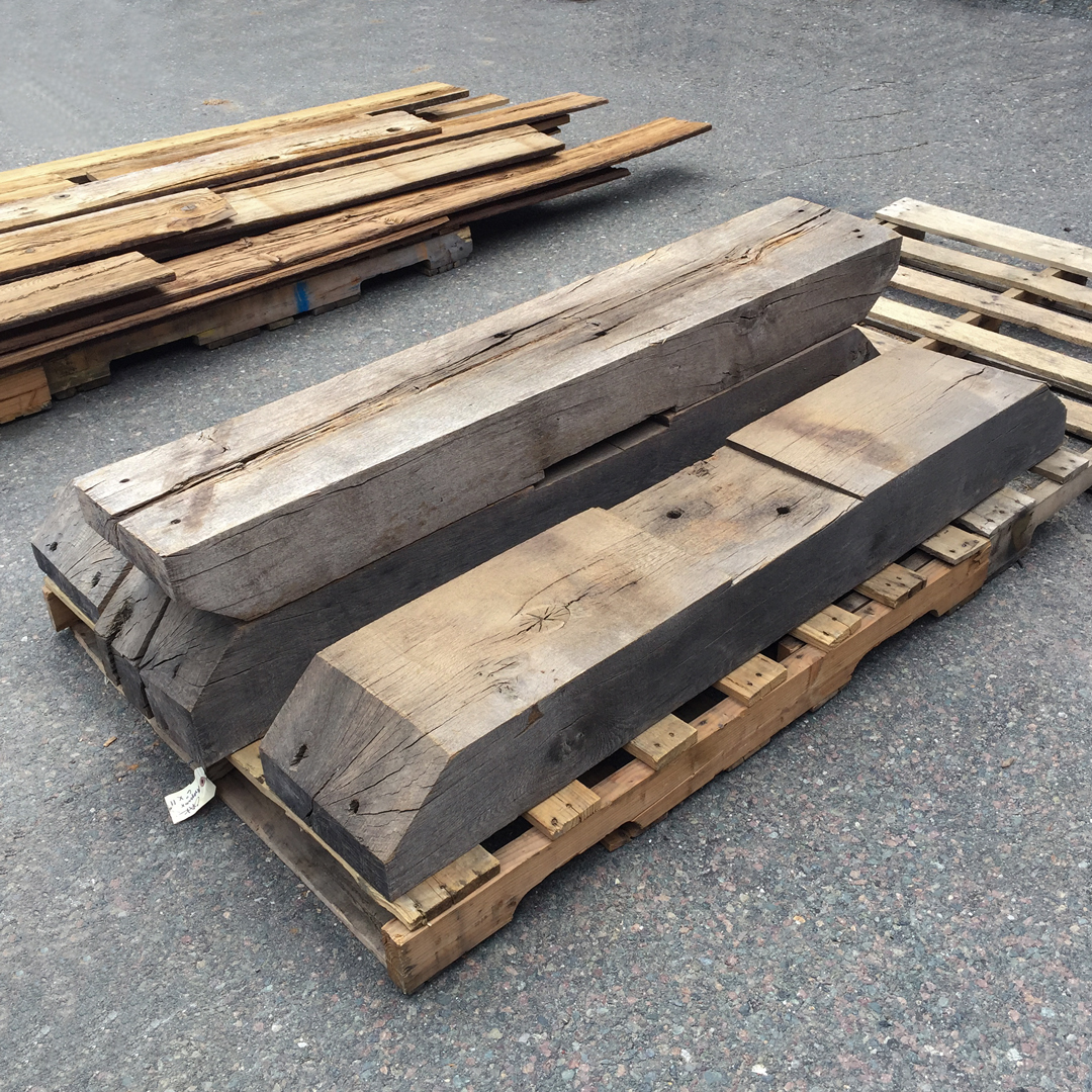 Oak Grist Mill Beams From Ohio
