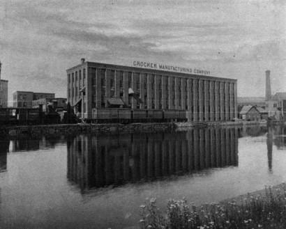 Crocker Manufacturing Company Mill in Holyoke, Massachusetts