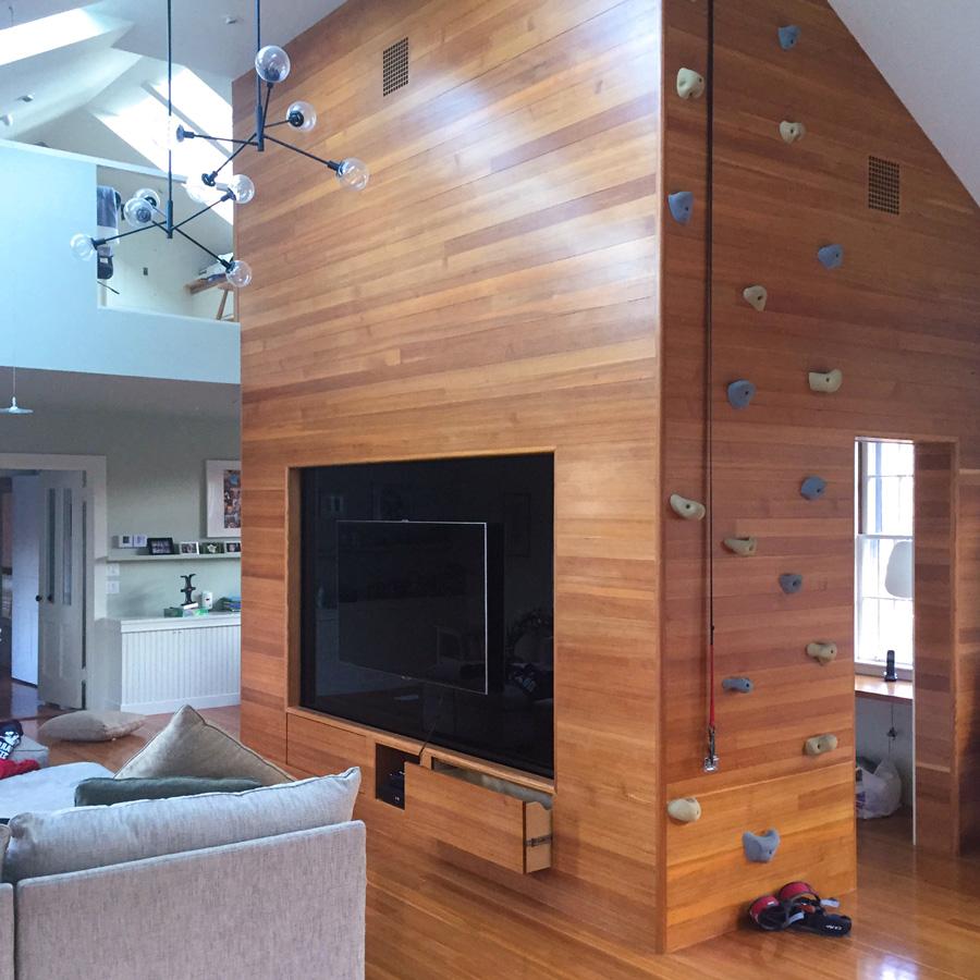 Clear Vertical Grain Heart Pine Paneling
