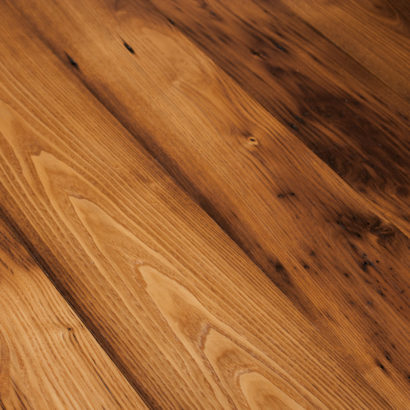 Reclaimed American Chestnut Flooring - Mixed Widths - Tung Oil Finish