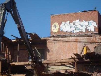 Atlas Terminal Demolition