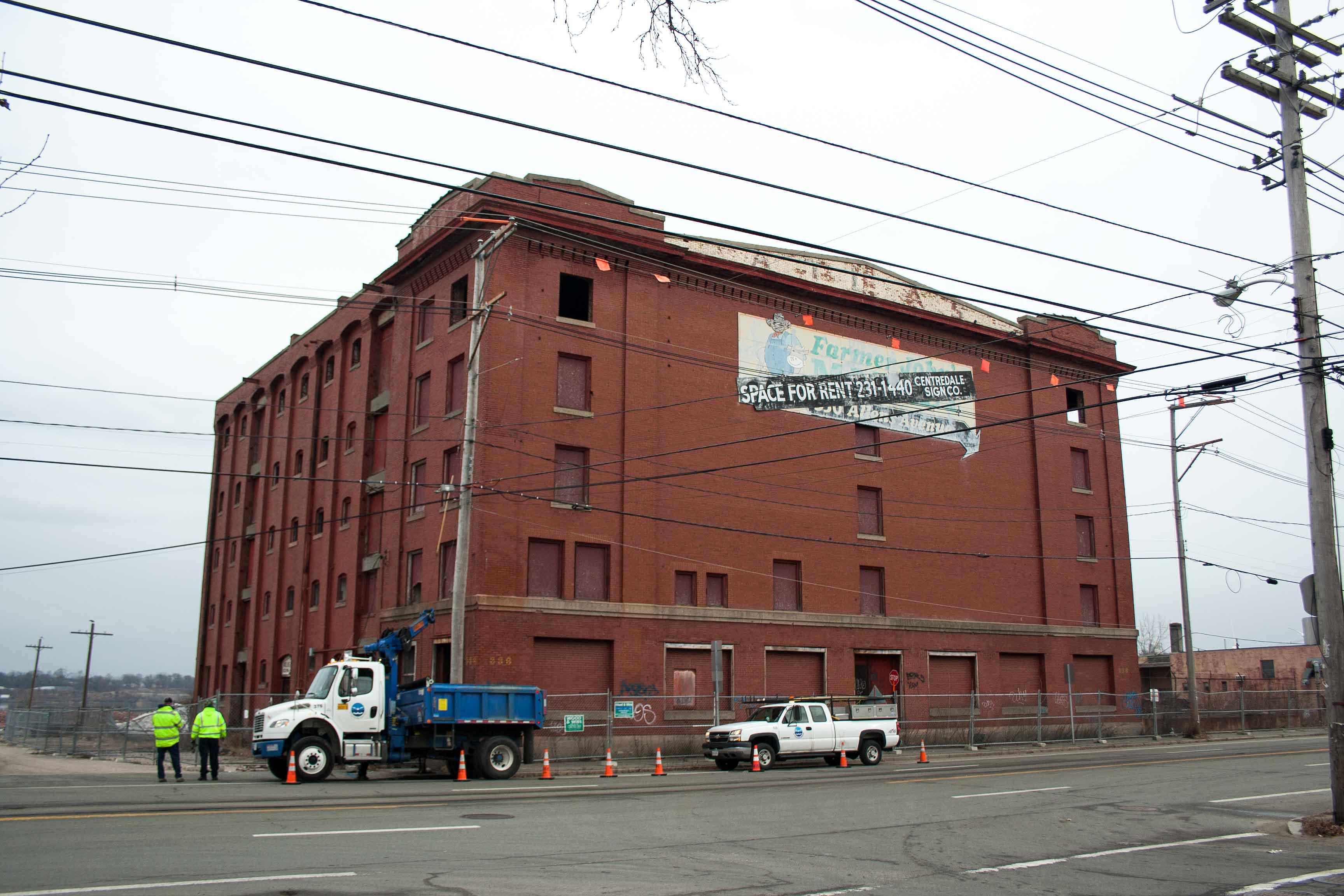 Longleaf Lumber Atlas Terminal Warehouse