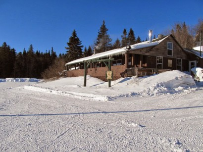 Bosebuck Mountain Camps in Winter