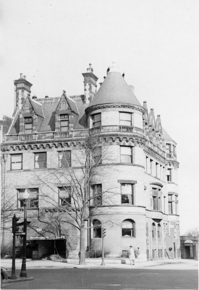 The Hooper Mansion in Boston, MA.