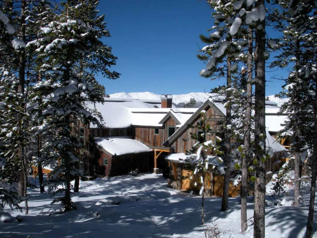 Live Oak Timber Frame In Colorado Private Home