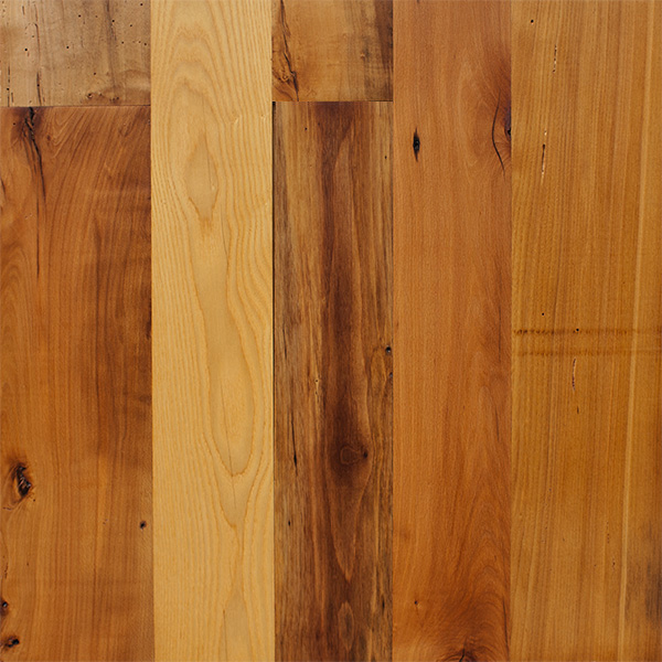 Bright Milled Reclaimed Mixed Hardwoods
