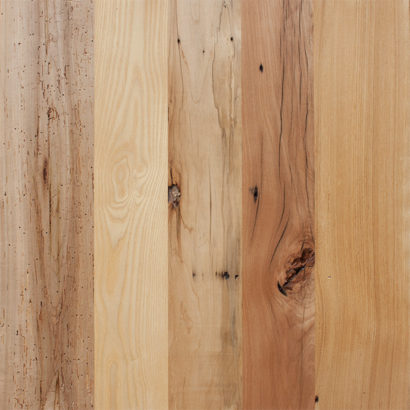 Bright Milled Reclaimed Mixed Hardwoods Flooring