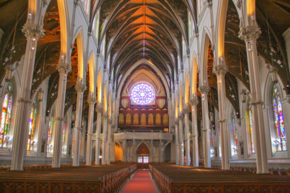 Cathedral of the Holy Cross in Boston