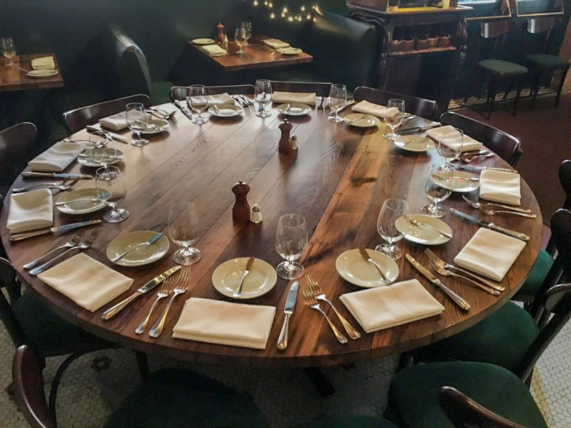 Longleaf Lumber Chestnut Restaurant Tables