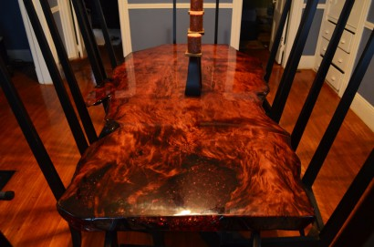 Nice Martin Conserva Salvaged Redwood Slab Table