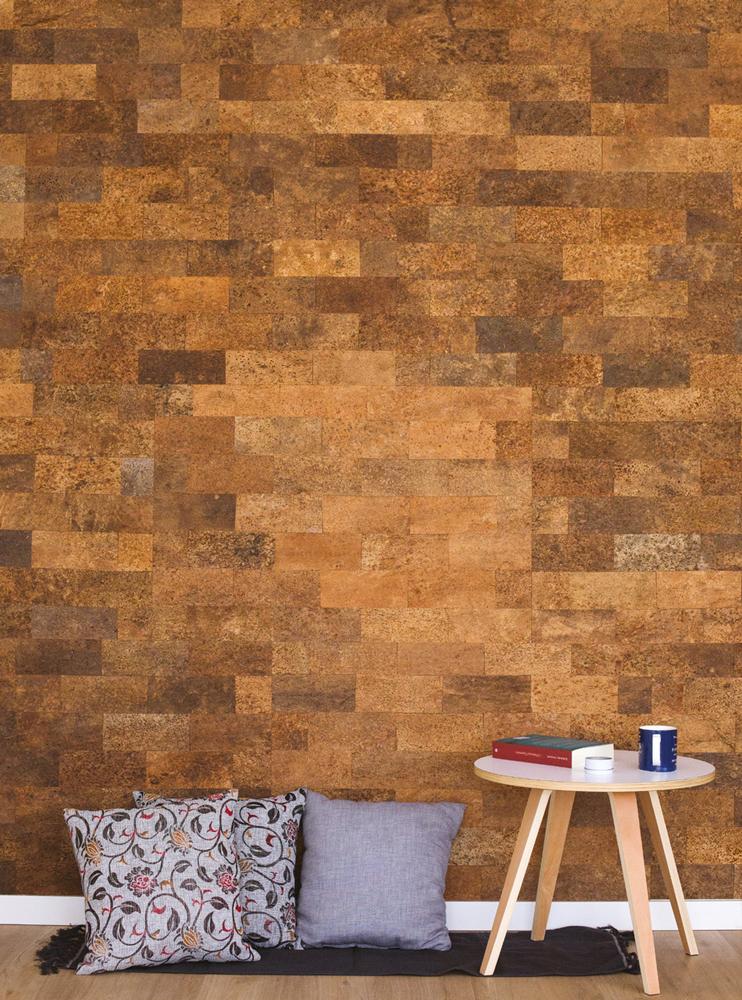 WE Cork Bark Style Natural Cork Paneling