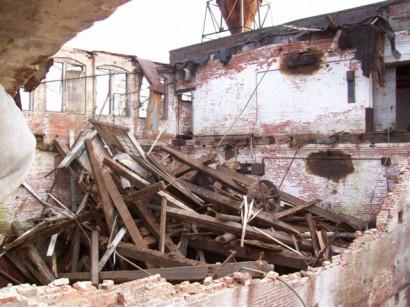 Crocker Manufacturing in Holyoke Massachusetts Demolition