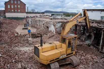 Crocker Manufacturing Demolition
