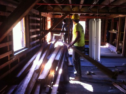 Denailing Abbot Mill Flooring