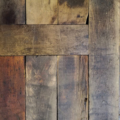 Salvaged Factory Maple Flooring