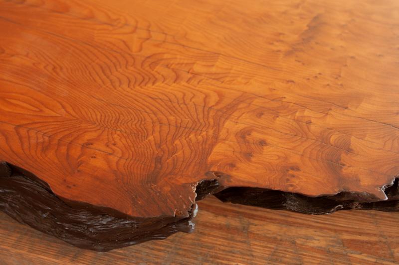 Finished Salvaged Wood Slab