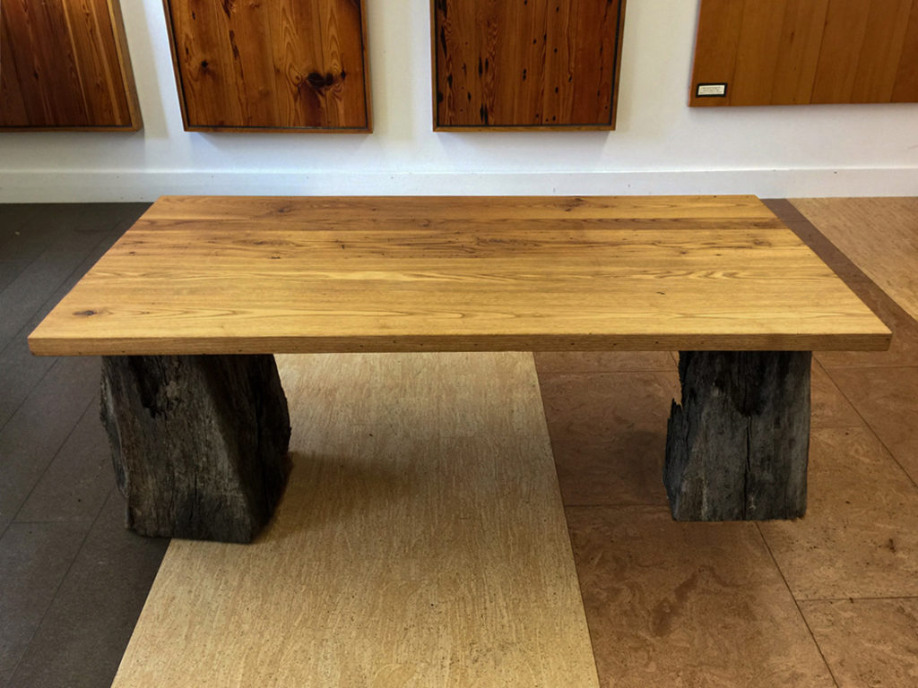 Finished Reclaimed Chestnut Table Tops