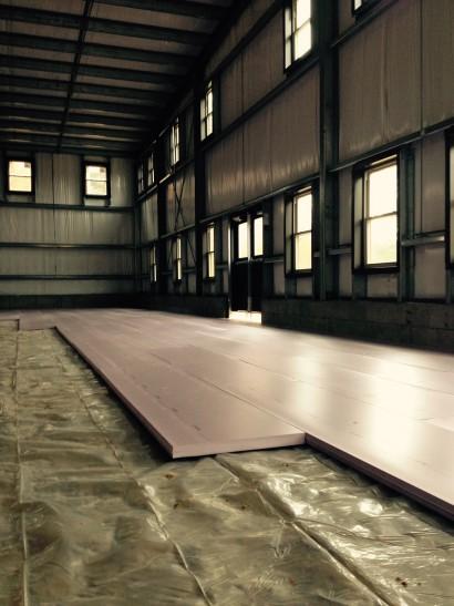 Longleaf Lumber Concrete Floor