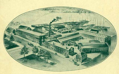 George Lawley & Son Shipyard in Dorchester, Massachusetts
