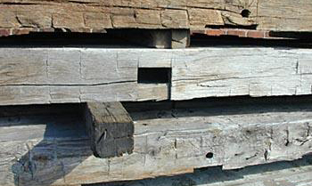 Hand-Hewn Beams For Sale