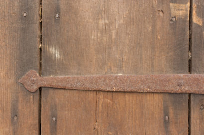 Salvaged Antique Barn Door Hardware