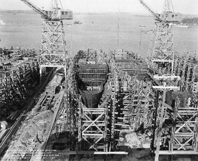 Bethlehem Hingham Shipyard in MA