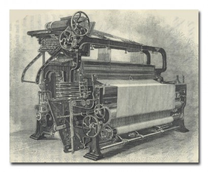 Knowles Loom Works Machine