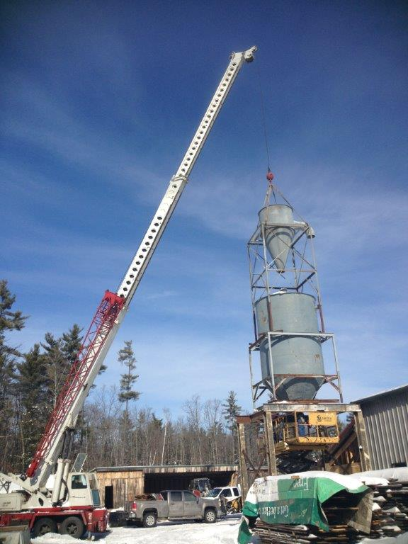 Longleaf Lumber New Grinding System in Berwick Maine