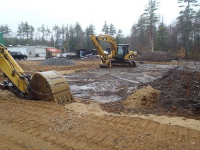 Longleaf Lumber Building Site Work