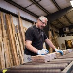 Phil Bundles Flooring at Longleaf Lumber