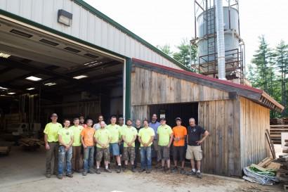 Longleaf Lumber's Mill Team in Berwick, Maine