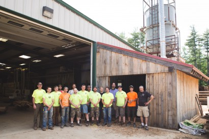 Longleaf Lumber Mill Employees