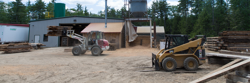 Longleaf Lumber Mill Yard in Berwick, Maine